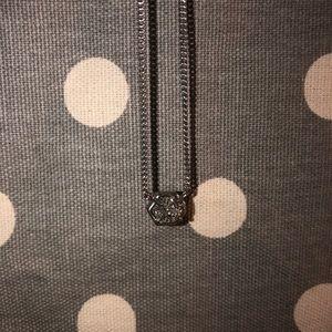 Platinum Drusy Kendra Scott necklace